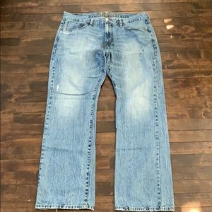 American Eagle men's original boot cut jeans